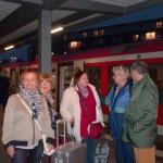 ... die nächste S-Bahn ist unsere