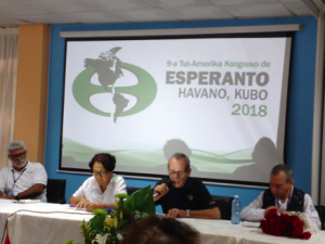 Esperanto Kongress Kuba 2018